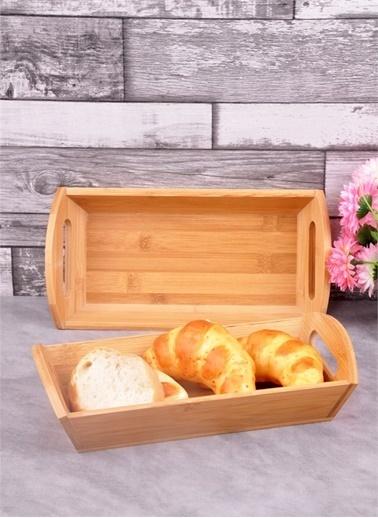 Bayev Ahşap Bambu Dikd.Küçük Ekmek Sepeti(P/Ahs-700269) Renkli
